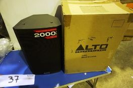 Alto Professional TS310 10 active full range speaker, 2000W - New (ES3)