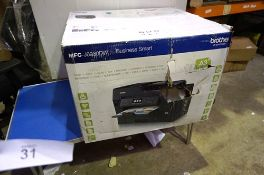 A Brother Business smart printer, model MFC-J6930DW - Sealed new in box, box damaged (ES3)