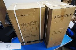 2 x commercial water boilers, size 440 x 280 x 730mm - Sealed new in box (ES7)