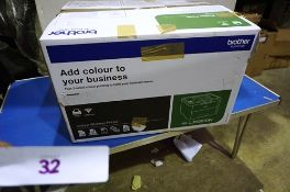 A Brother colour wireless printer, model HL-L3230CDW - New in box, box open, contents unchecked (