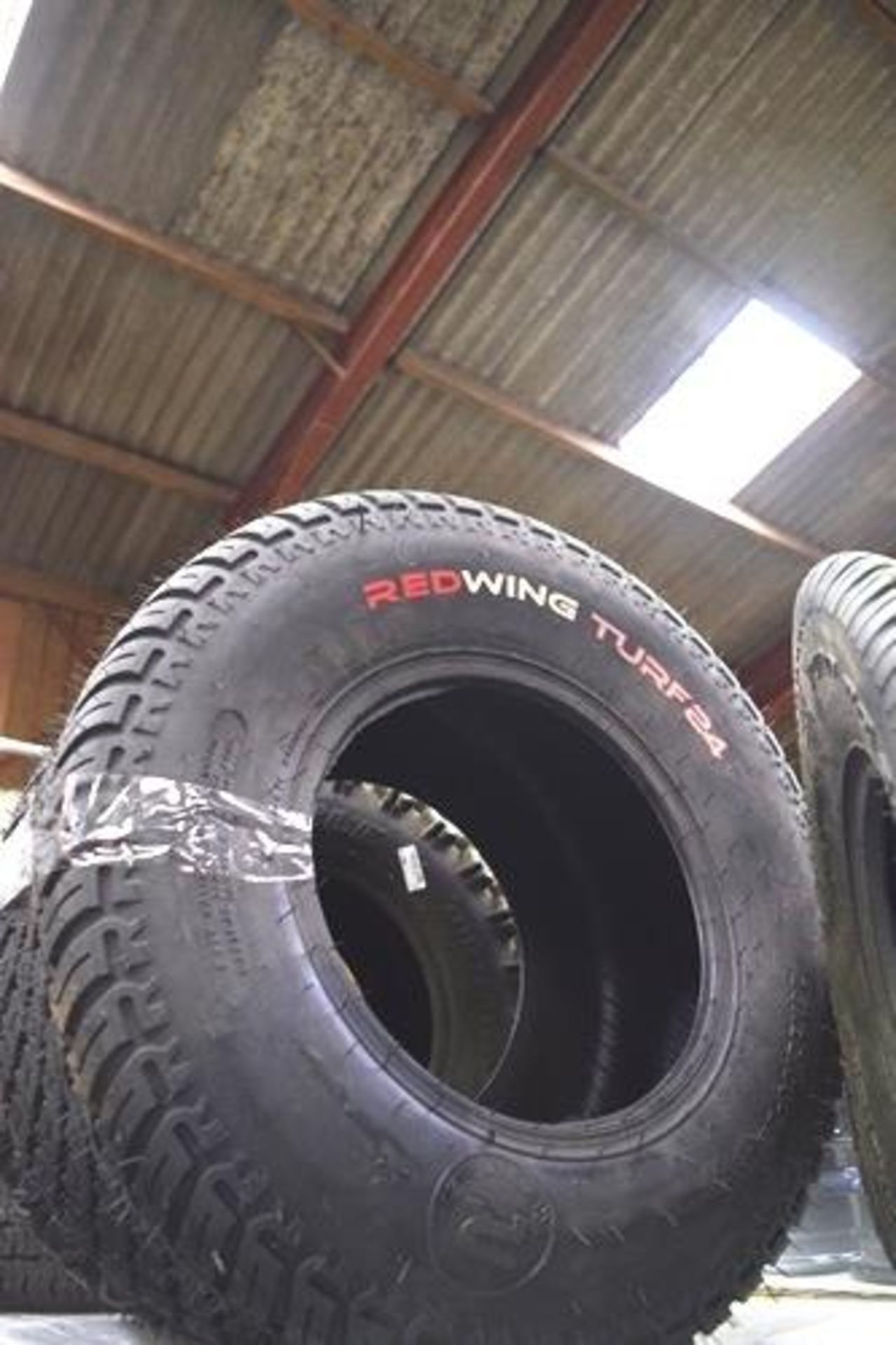1 x Redwing Turf 24 tyre, size 26 x 12.00-12 NHS - New (GS10) - Image 2 of 2