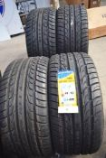 A set of 4 Road King F110 X Sport tyres, size 285/35R22 106V XL - New, one with label (GS1)
