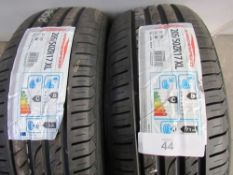 A pair of Arrowspeed AS-S01 205/50ZR17 93W XL tyres - New with label (GS2)
