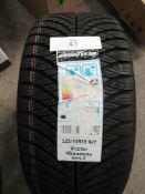 1 x Goodyear Vector 4 Seasons Gen 2 tyre, size 225/40ZR18 92Y - New with label (GS2)