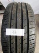 1 x Maxxis Premitra 5 tyre, size 205/50ZR17 93W - New (GS2)