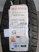1 x Maxxis MCV3+ Vansmart 107/105T 8PR tyre, size 205/65/R16C - New with label (GS3)