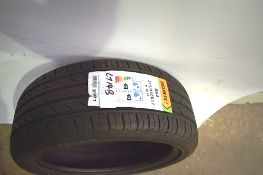 1 x Delinte DH2 tyre, size 215/45ZR17 91W XL - New with label (GS1)