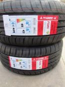 2 x A-Three-A reinforced P606 tyres, size 215/50ZR17 P5W - New with label (GS2)