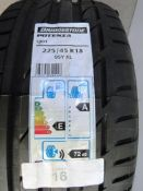 1 x Bridgestone Potenza S001 tyre, size 225/45R18 95Y XL - New with label (GS1)