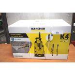 1 x K'Archer K4 full control high pressure washer, type 44FC, P.N. 1.324-002.0, 230 - 240V - New