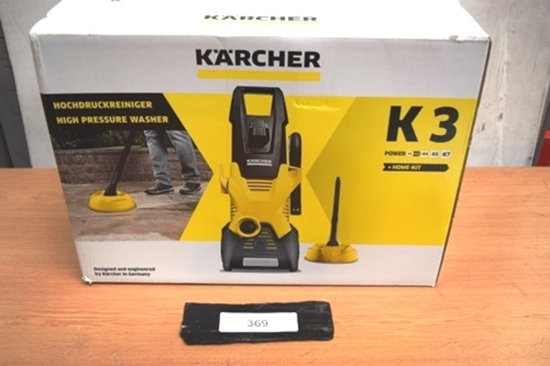 1 x K'Archer K3 high pressure washer and home kit, type K3H, P.N. 1.601-885.0, 240V - New in box (