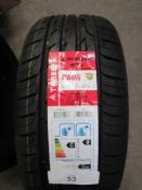 1 x Three A P606 tyre, size 225/45ZR18 - New (GS2)