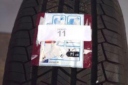 1 x Taurus 701 4X4 SUV tyre, size 235/60 R18 107W (GS1)