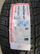 1 x Roadian Roadstone HP tyre, size 255/50R20 109V Extra Load - New (GS2)