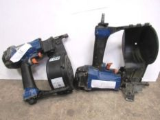 2 x Duo Fast CNP65.1 barrel magazined pneumatic nail guns - Second-hand (TC3)