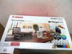 1 x Canon Pixma G6050 with mega tank wireless printer - New (ES3)