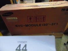 "1 x Samsung SVC 50"" - 51"" replacement display module, model BN96-26651A - New in box, box tatty ("