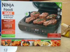 1 x Ninja Foodimax health grill and air fryer, model AG551UK - New (ES2)