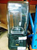 1 x Buffalo commercial 1680W blender with safety guard, model DR825 - Second-hand, tested working (