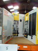 2 x Zanussi radiators comprising 1 x 11 Fin 2.3kw, model ZOFR5005 and 1 x 9 Fin 2kw, model ZOFR5003,