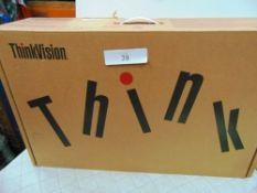 Lenovo ThinkVision T27i-10 monitor, model SD10L83193 - New (ES3)