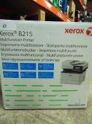 1 x Xerox B215 multifunction printer, model B215 - New (ES2)