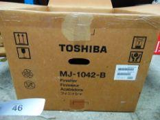 1 x Toshiba MJ1042B printer, RRP £900.00 - New in box, box open (ES2)