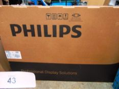 "1 x Philips 55"" TV, model 55HFL2899S/12 - New in box (ES3end)"