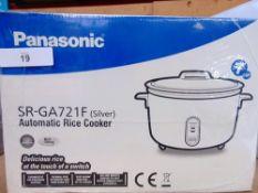 1 x Panasonic automatic rice cooker, model SR-GA721F - New (ES2)