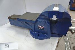 1 x Sealey heavy duty bench vice, model CV200XTV2 - New (TC5)