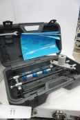 1 x Souber Tools DBB morticer, together with 3 x router bits, size CWB19, CWB22 and CWB25 in plastic
