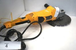 Wolf 230mm, 2300W angle grinder - Second-hand, powers on (TC3)