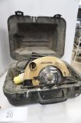 1 x Skil classic 110V circular saw, model 1866 - Second-hand, tested working (TC3)