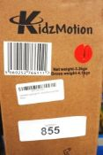 2 x Kidz Motion Kruzer red magnesium alloy balance bike - New in box (GS36A)