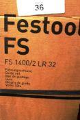 1 x Festool guide rail, model FS1400/2 LR32 - New in box, box tatty (ES5end)