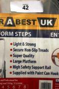 1 x Drabest UK 5-tread platform steps (ES5end)
