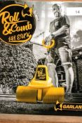 1 x Garland Roll & Comb artificial grass maintenance/sweeper, model 141EUK, 230V 300 W , 2.0ah