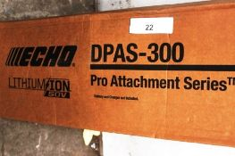 1 x Echo Pro Series attachment, model DPAS-300, body only - New in box (ES5end)