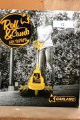 1 x Garland Roll & Comb artificial grass maintenance/sweeper, model 141WUK, 18V electric mower, 2.