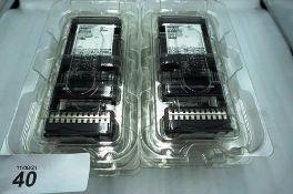 """4 x Dell EMC 15.36TB Hot-Plug hard drives, 2.5"""", Ref: MZ-WLLI5 TC - New in box (C1)"""