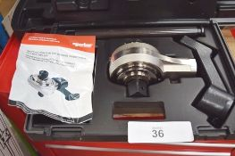 1 x Norbar professional torque handle only, model 650m 22mm spigot, P.N. 14040, in case, together