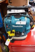 1 x Makita petrol leaf blower, model EB7660TH with accessories, manual and box - Grade B (ES10)