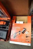 1 x Fein Akku 18V cordless multimaster 700 top oscillating multi tool - New in case (ES10)