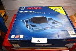 1 x Bosch 12V cordless impact drill/driver, model GSB 12V-15, body only, 1 x Bosch angle grinder,