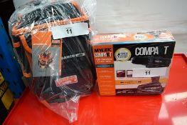 1 x Mylek Compakt 18V cordless Li-ion drill, together with 1 x Bahco tool bag, model 4750FB3-12 -