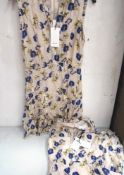 2 x Reiss floral day dresses, 1 x UK size 4 and 1 x UK size 8 - New with tags (1A)