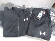5 x Under Armour tracksuit sets, size Junior XL - Sealed new in pack (1B)