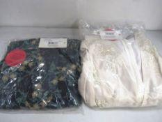 2 x Hope & Ivy dresses comprising Juliette plunge, size 12 and Kimono front midi dress, size 16 -