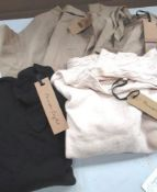 2 x pairs of Phase Eight Jeannine culottes, sizes 10 and 14 and 2 x items of Phase Eight knitwear,