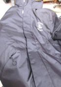 A good quantity of work wear including 9 x Kariban jackets, company logo'd, 9 x items of fluorescent